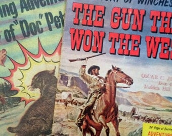 Winchester Gun and Peters Ammunition Comic books