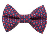 """Cat Bow Tie - """"The Oh My Stars"""" -  Patriotic Stars - LIMITED"""