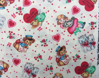 My Funny Valentine - Exclusively Quilters fabric FQ or more