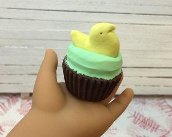 Miniature Peeps Easter Cupcake for American Girls 1:3