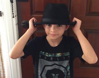 Vintage Dorfman Pacific Black Wool Felt Hat