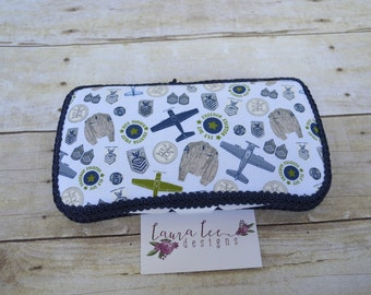 Antique Airplanes Travel Baby Wipe Case, Personalized Wipecase, Wipe Holder, Diaper Wipe Case, Baby Shower Gift, Diaper Bag Wipe Clutch
