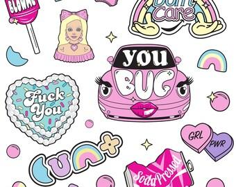 EyeCandy Sticker Sheets