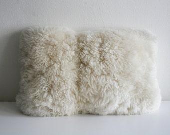 Alpaca Fur Peruvian Pillow