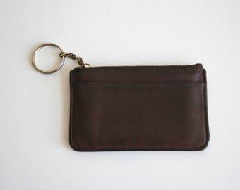 Brown Slim Coach Wallet