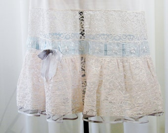 Aristocraft Tailored by Superior Tulle Net Nylon Lace Ribbon Slip