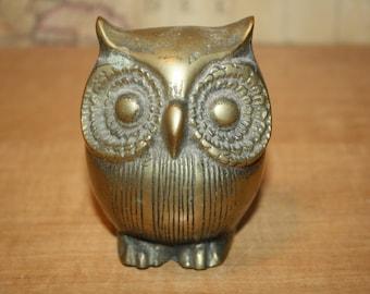 Brass Owl - item #2281
