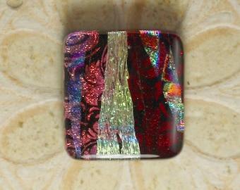 Dichroic Glass Cabochon. C-202