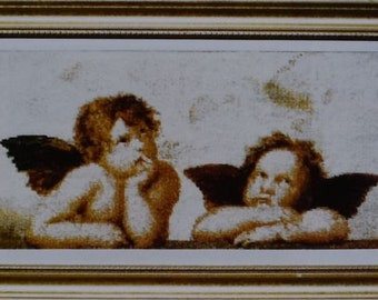 Sistine Cherubs – Painting by Raphael – The Fine Arts Heritage Society Chart 81