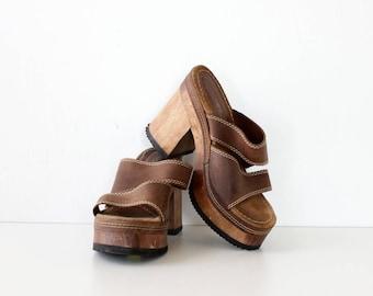 Chunky Platforms 7 1/2-8 • Candies Heels • 90s Platforms • Vintage Platforms • Platform Sandals • Candies Sandals • Chunky Sandals | SH389
