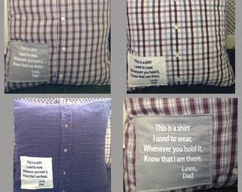 Memory Pillow/ Keepsake Pillow