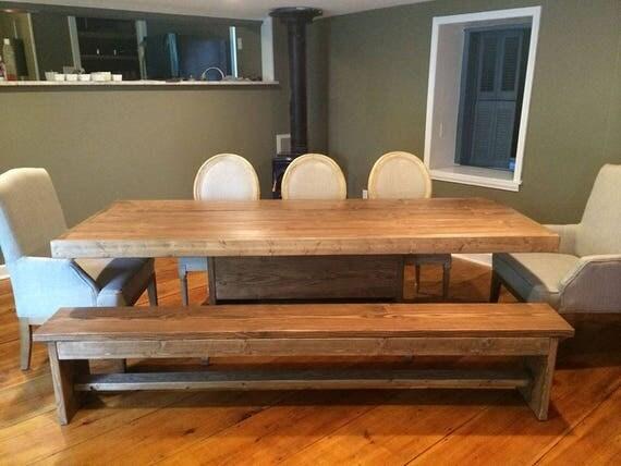 6 foot pedestal dining room set
