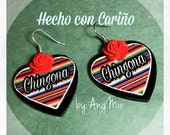 Chingona earrings