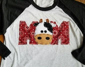 Mom barnyard birthday shirt, Mom, Dad, two, cow, matching shirts, t shirt, barn yard, farm theme, boy white