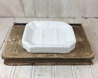 Vintage Homer Laughlin Ironstone Soap Dish