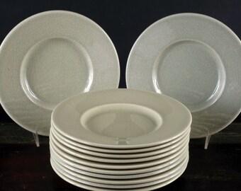 Molin, Faience de Charolles, France, Salad / Dessert Plates