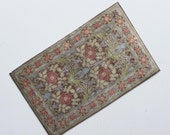 Miniature Rug Arts and Crafts Wm Morris Style