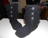 high top loop slipper boot by kams store