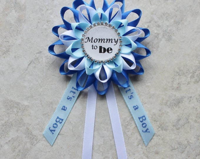 custom baby shower corsages for Vanessa