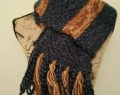 Reserved wool vintage Ravenclaw scarf