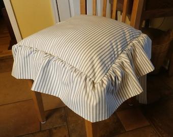 Ruffle Chair Cushion Etsy Uk