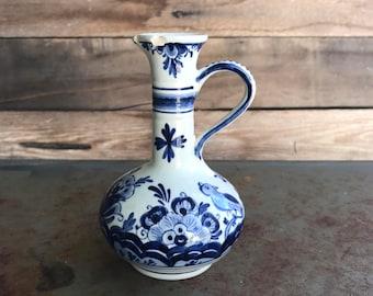 Vintage Delft Blue Mini Pitcher