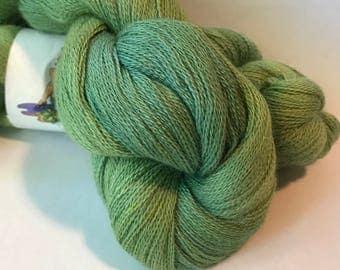 LUSH II Lace yarn Baby alpaca silk, Esmarelda
