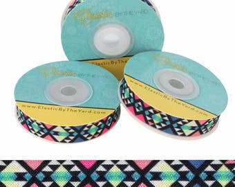 """Quilt - 5/8"""" Wide - Fold Over Elastic - 5 YARDS"""