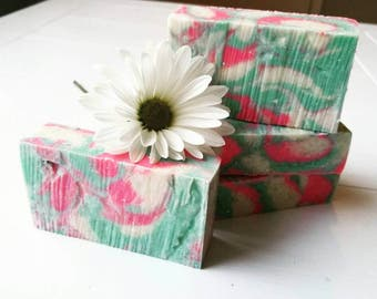 Sweet Pea Soap, Frangrance Oil, Pretty Soap, Artisan Made, Luxurious Spa Soap, Handmade, Skin Loving, Gifts For Her, Work