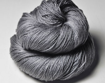 Gray which must not be named - Merino/BabyCamel Lace Yarn - LIMITED EDITION