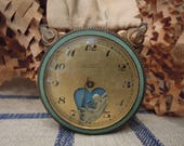 Vintage Le Petit Forgeron Animated Swiss Watch / Hanging Watch / Brevet + Depose / Circa 1900