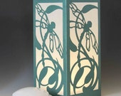 Dragonfly Laser cut Luminary Table Lamp Centerpiece - #36
