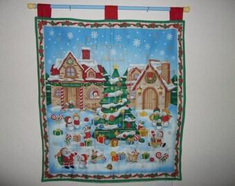 Christmas Advent Calendar - Snow Town