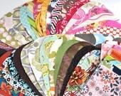 Fabric Scrap Bag - designer fabrics