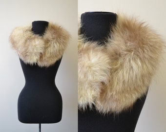 1950s Blond Fur Collar