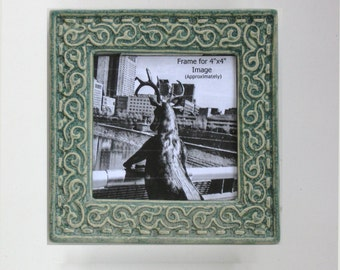 Organic Design 6x6 MUD Pi Frame for 4x4 Picture