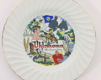 Oklahoma State Plate