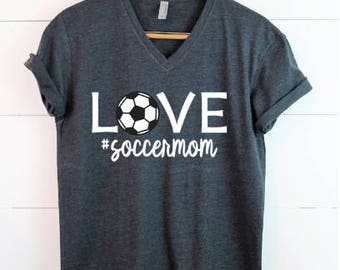 Soccer Mom TShirt - Made to order, Pick your colors!