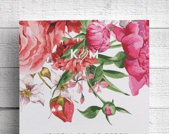 Floral Wedding Invitations, Garden Wedding Invitations, Spring Wedding Invitations, Outdoor Wedding Invitations, Pink Wedding