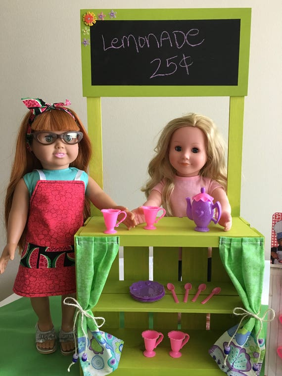 18 Super Cute Diy Valentines Crafts For Kids: Super Cute Lemonade Stand For 18 Doll American Girl
