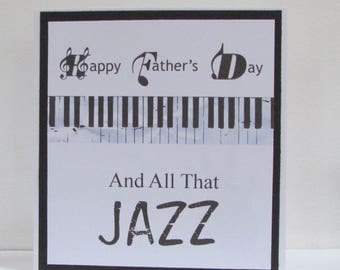 Father's Day All That Jazz Card