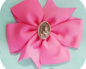 Saint Pink Pin-wheel Bows