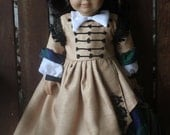 Reserved Listing for emooney4, Scarlet O'Hara's lumber mill dress for 18in American girl dolls