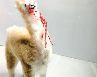 Alpaca toy, souvenir, unisex gifts, animal lover, super soft fur, item no. Bde10