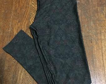 Tapestry print legging