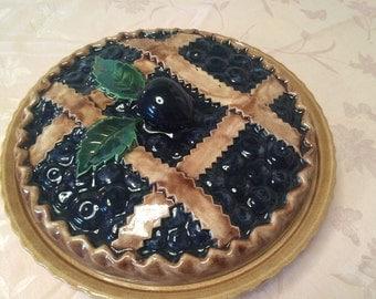 Apple Pie Plate Etsy