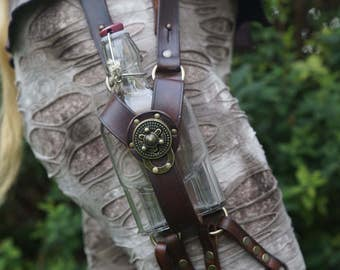 Gin Flask / Bottle Leg Holster