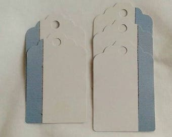 Unique Gift Tags / Jean Gift Tags / For Him / Blue Jean / Set of 5