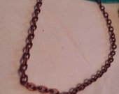 Antiqued Copper Chain- add on only