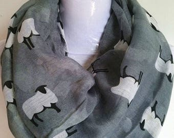 Sheep Infinity Scarf